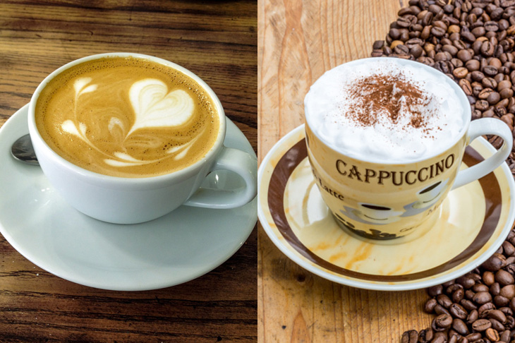 What is the difference Between a Latte and Cappuccino