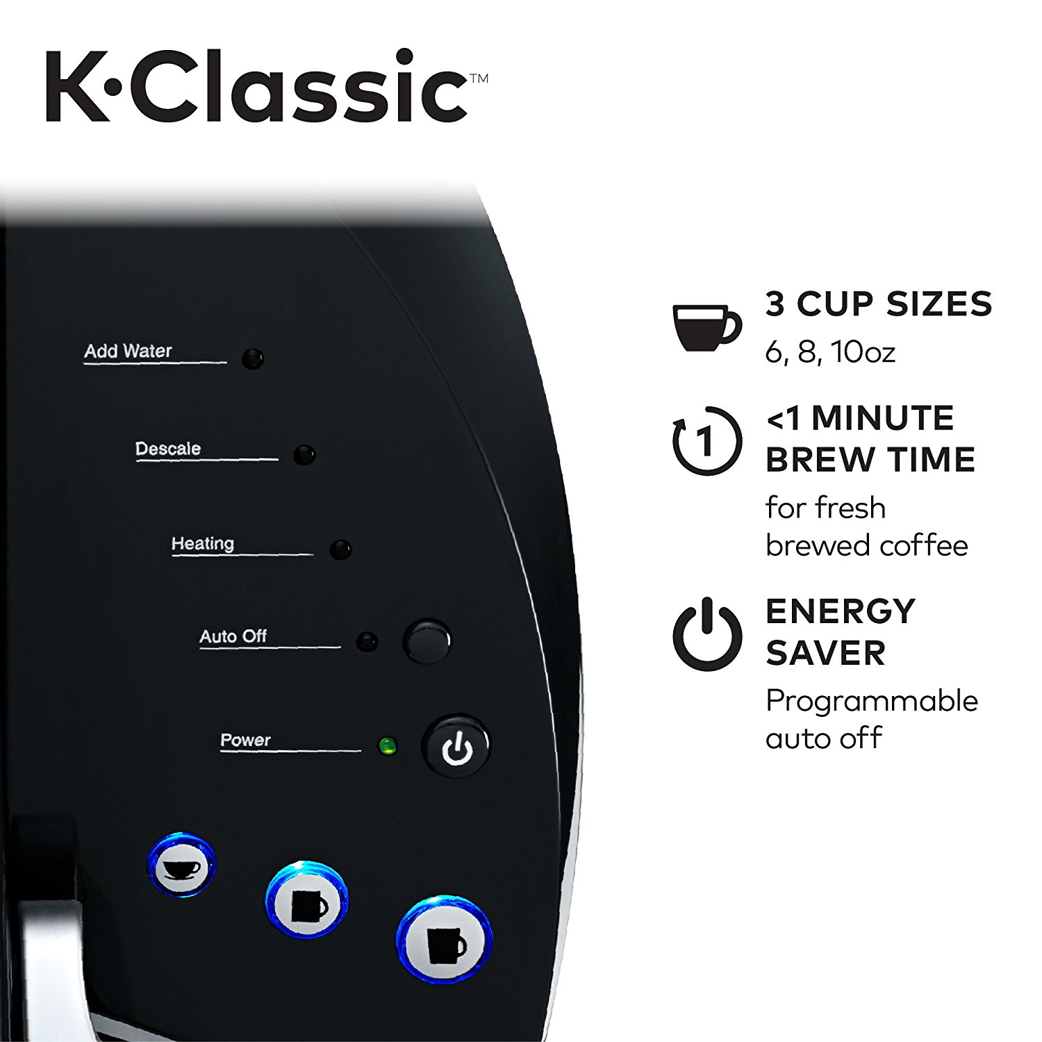 the K15 coffee maker