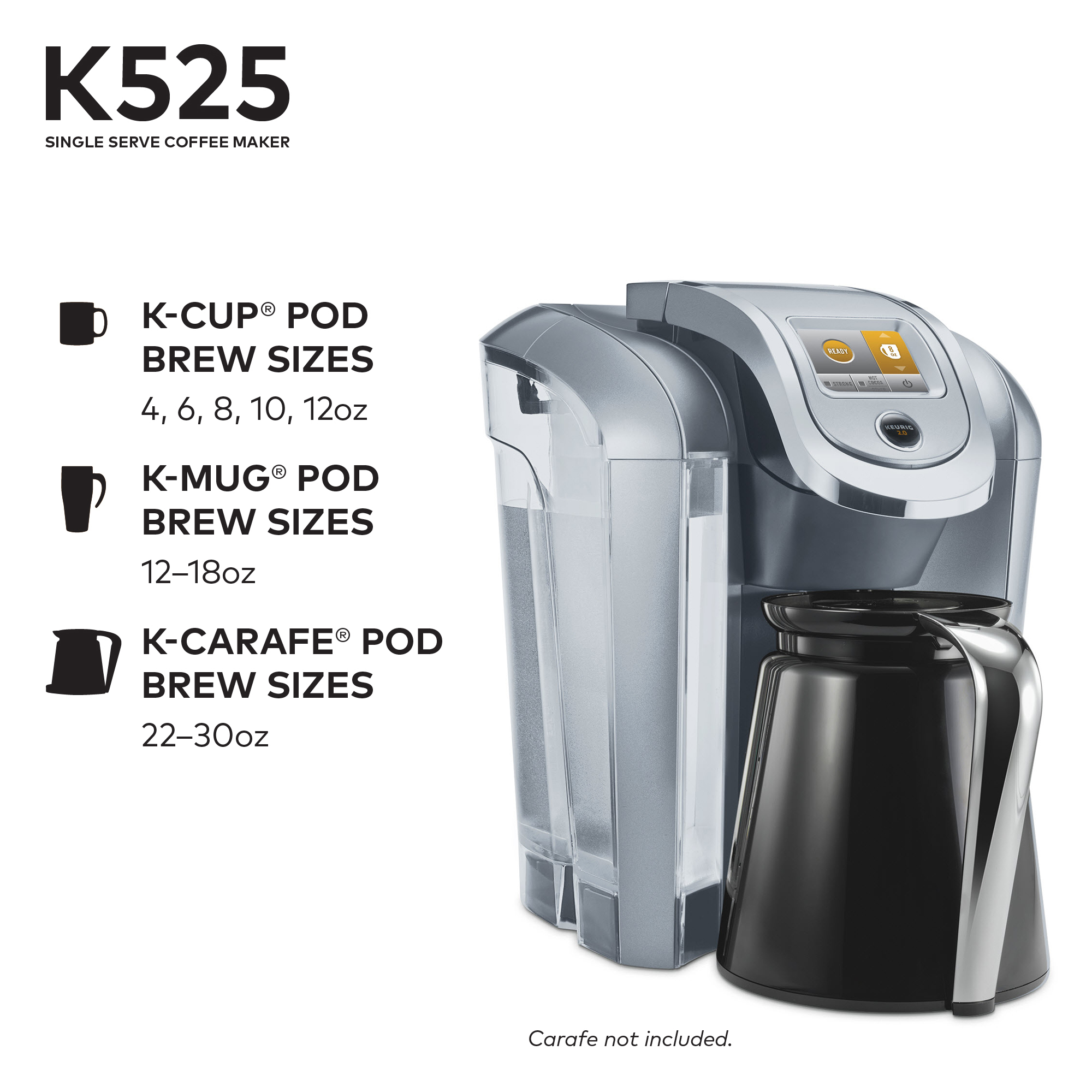 Keurig 2.0 K525 Features