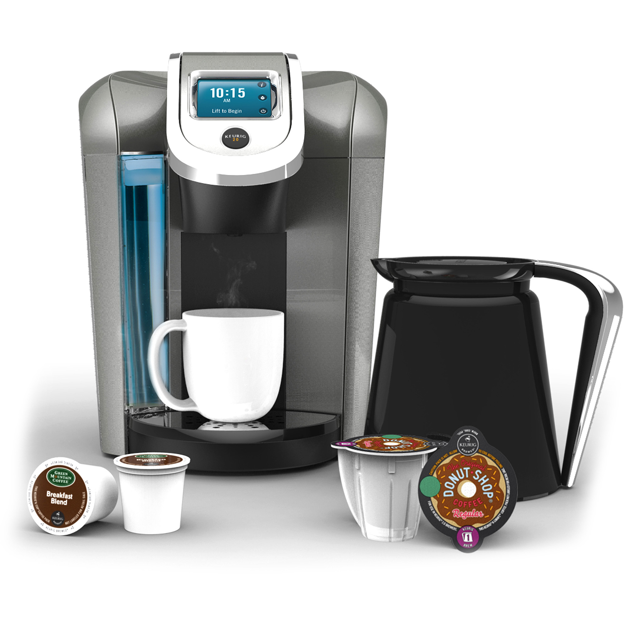 Keurig K500 and the Keurig K550 Single-Serve Coffee Machines